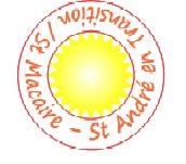 logo st macaire st andré en transition